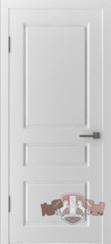 """Дверь межкомнатная """"Честер"""" белая эмаль глухая"""