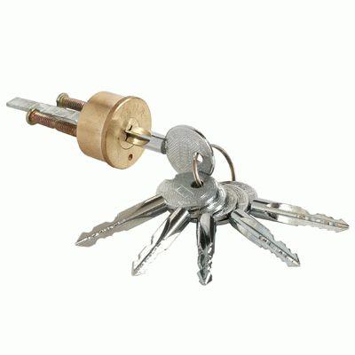 Цилиндровый механизм Аллюр CK20 крест.ключ д/накл.замков