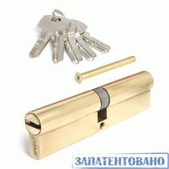 Цилиндровый механизм Апекс SC-M-120-Z-G перф. кл/кл золото