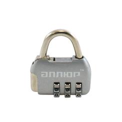 Замок навесной АЛЛЮР ВС1К-35/4 (HA806) CP серебро кодовый d=4мм