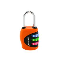 Замок навесной АЛЛЮР ВС1К-27/4 (F5) оранжевый кодовый d=4мм