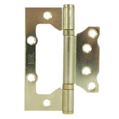 Петля накладная без врезки MCL 4*3*2 мм SGP КОРОБКА 2мм мат.золото