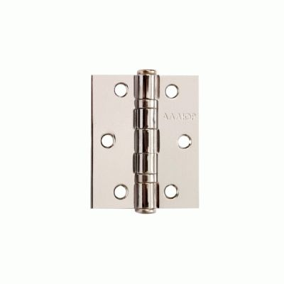 Петля дверная 2 шт Аллюр 20325 2BB-FHP CP 2 подш.,хром 77х64