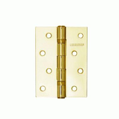 Петля дверная 2 шт Аллюр 2043 2BB-FHP BP 2 подш. латунь 101х76
