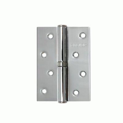 Петля дверная 2 шт Аллюр 2043 L1-LH-1BB-CP БЛИСТЕР Л хром 100х70