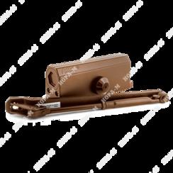 Доводчик дверной Нора-М №4S морозостойкий до 120кг корич.