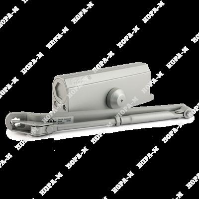 Доводчик дверной Нора-М №4S морозостойкий до 120кг серый.