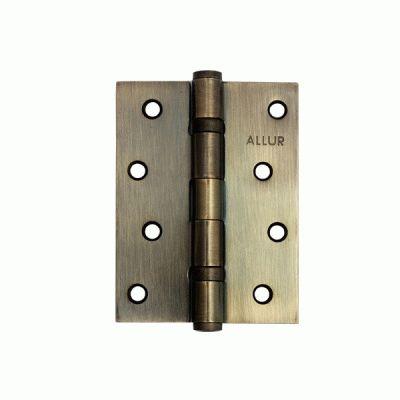 Петля дверная 2 шт Аллюр 2543 2BB-FHP AB 2 подш. бронза 101х76