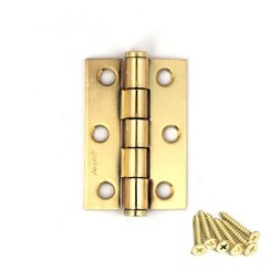 Петля накладная AVERS 60х40х1,75-G золото