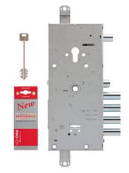 Замок Cisa (Чиза) врезной двухсистемный NEW CAMBIO FACILE 57.966.48 (тех. упаковка), ключ 44 мм