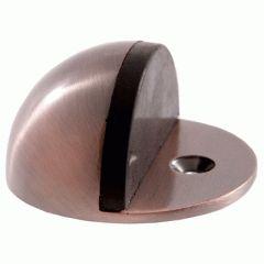 Ограничитель дверной Аллюр круглый G-7018 ст.медь БЛИСТЕР