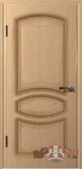 Шпонированная межкомнатная дверь Версаль глухая