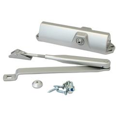 Доводчик дверной DORMA TS 68 EN2/4 от 50 до 120 кг. c рычагом серый