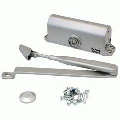 Доводчик дверной DORMA TS 77 EN 2 до 50 кг. c рычагом серебро