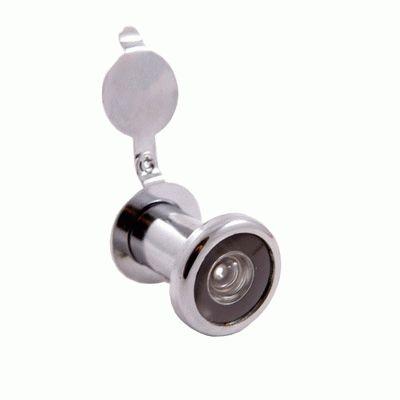 Глазок дверной Аллюр ГД-1 БШт 25-42мм d=14мм хром