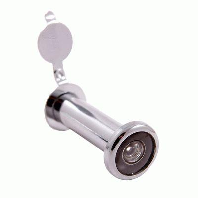 Глазок дверной Аллюр ГД-3 БШт 50-75мм d=14мм хром