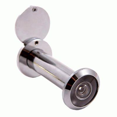 Глазок дверной Аллюр ГДШ-4 БШт 60-100мм d=16мм хром