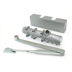 Доводчик дверной DORMA TS 83 EN3/6 ВСА от 60 до 150 кг. c рычагом CL-N серый