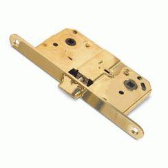 Защёлка 5300-WC-G золото с фиксатором м/о 90мм