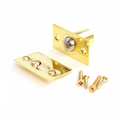 Фиксатор дверной Апекс R-0001 G с/шариком золото