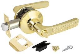 Ручка защелка Punto (Пунто) 6026 PB-B (фик.) золото