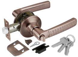 Ручка защелка Punto (Пунто) 6026 AC-E (кл./фик.) медь