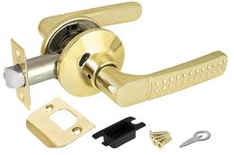 Ручка защелка Punto (Пунто) 6026 PB-P (без фик.) золото
