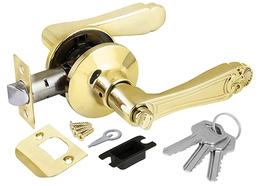 Ручка защелка Punto (Пунто) 6037 PB-E (кл./фик.) золото