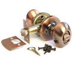 Защёлка фикс. Апекс 6093-03-AC медь