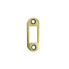 Ответная планка АЛЛЮР АРТ SP20R1 PB золото овал.20мм для защелок