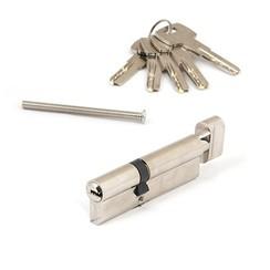 Цилиндровый механизм Апекс SM-120-C-Ni перф. кл/верт. никель