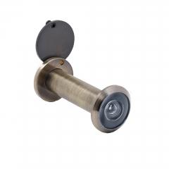 Глазок дверной АЛЛЮР ГДШ-4 БШт 60-100мм d=16мм ст.бронза