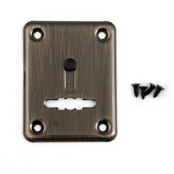Накладка для сув/м Апекс DP-S-01-AB-shutter бронза с/шторкой