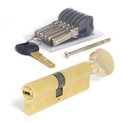 Цилиндровый механизм Апекс Premier CD-90 (40/50С) -С-G кл/верт. золото перекод.