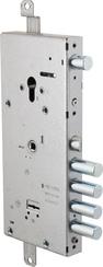 Замок Cisa (Чиза) врезной двухсистемный NEW CAMBIO FACILE 57.966.48 (тех. упаковка), ключ 64 мм