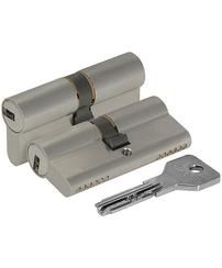 Цилиндровый механизм Cisa (Чиза) ASIX OE300-07.12 (60 мм/25+10+25), НИКЕЛЬ