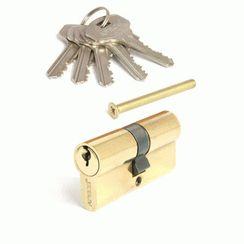 Цилиндровый механизм Апекс SC-60-Z-G англ. кл/кл золото