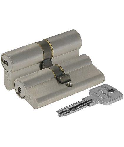 Цилиндровый механизм Cisa (Чиза) ASTRAL ОА310-18.12 (80 мм/35+10+35), НИКЕЛЬ