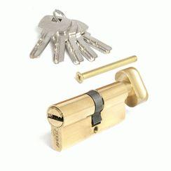 Цилиндровый механизм Апекс SC-M-70-Z-C-G перф. кл/верт золото