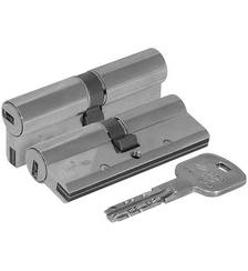 Цилиндровый механизм Cisa (Чиза) AP3 OH3S0-29.12 (90 мм/40+10+40), НИКЕЛЬ