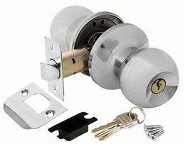 Ручка защелка PUNTO 6072 CP-E (ключ/фиксатор) хром