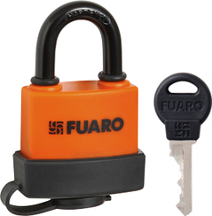 "Замок Fuaro (Фуаро) навесной PL-3640 (40 мм) 3 ""англ.""кл. БЛИСТЕР"