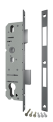 Корпус Fuaro (Фуаро) узкопрофильного замка с защелкой 4916-30/92 CP (хром) межосев. расст. 92 мм