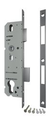 Корпус Fuaro (Фуаро) узкопрофильного замка с защелкой 4916-40/92 CP (хром) межосев. расст. 92 мм