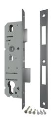 Корпус Fuaro (Фуаро) узкопрофильного замка с защелкой 4924-35/92 CP (хром) межосев. расст. 92 мм