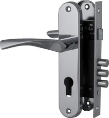 Корпус Fuaro (Фуаро) замка в комплекте с ручкой SET F1511W/B CP
