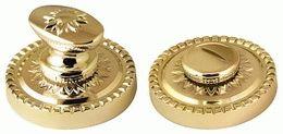 Ручка поворотная ARMADILLO WC-BOLT BK6/CL GOLD-24 Золото 24К