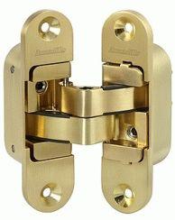 Петля скрытой установки ARMADILLO с 3D-регулировкой Architect 3D-ACH 60 SG Матовое золото прав. 60 кг