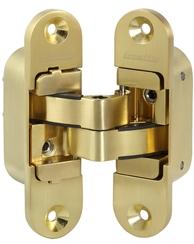 Петля скрытой Armadillo (Армадилло) установки с 3D-регулировкой Architect 3D-ACH 60 SG Матовое золото лев. 60 кг