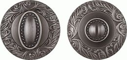 Ручка поворотная FUARO BK6 SM AS-3 античное серебро